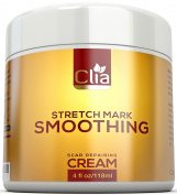 Stretch Mark Cream 120ml for Reduction and Prevention of New and Old Stretch Marks and Scars | Best Natural Formula with Retinol, Jojoba, Shea Butter and Vitamin E