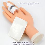 2x Eyelashes Strip Pallet Plastic Glue Ring Set Adhesive Holder Lash Extension Kit