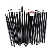 AMarkUp 20 Pcs Pro Makeup Brushes Set Powder Foundation Eyeshadow Eyeliner Lip Cosmetic Clearance Brush