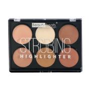 Beauty Treats Strobing Highlighter Palette Six Colours