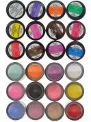 Adoro Decori Acrylic Glitter Powder Set of 12 Different Colours
