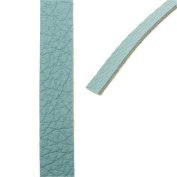 Create Recklessly, Symphony Faux Leather Strip, for Bracelets 10mm Wide, 1 Yard, Reef Green