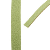 Create Recklessly, Symphony Faux Leather Strip, for Bracelets 10mm Wide, 1 Yard, Scallion Green