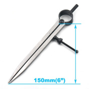"""Bluemoona 1Pc - Leather Craft Rotating Tools Leathercraft Wing Divider adjustable DIY 6"""" 150mm"""