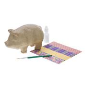 Decoupage Piggy Bank Kit