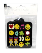 Emoji Gift Wrap Tags, 4 Count