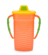 Mommys Helper Pouch Mate Food Pouch Holder, Orange/Green/Yellow