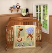 Little Bedding Safari Kids Crib Bedding 3-Piece Set