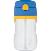 Foogo Phases Blue BPA-Free, 330ml Leak-Proof Straw Bottle with Lid