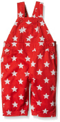 Cotton Baby Red Star Overalls