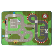 """Learning Carpets City Life Play Carpet Children Area Rug 100*133cm(40""""x52"""")"""