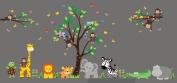 Nursery Room Decor - Wall Decals Nursery - Safari Themed Nursery Stickers