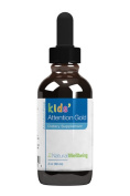 Natural Wellbeing - Kids' Attention Gold - Natural Support for Focus and Concentration - 2oz