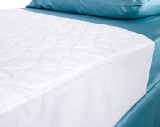 Chummie Deluxe Extra Absorbent Waterproof Mattress Sheet Protector for Children, Teens and Adults, 140cm x 90cm + Two 46cm Flaps, 1 Count