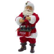 Kurt Adler 25cm Santa Opening Coke Tablepiece