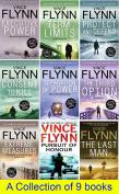 Vince Flynn Books - 9 Brand New Paperbacks Set