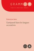 L'Antipassif Dans Les Langues Accusatives  [FRE]
