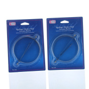 Lot of 4 Stainless Steel Egg Rings Round Mould Kitchen Tool