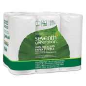 100% Recycled Paper Towel Rolls, 2-Ply, 11 x 5.4 Sheets, 140 Sheets/RL, 6/PK, Sold as 2 Package