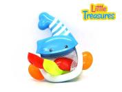 Bathtime fun toddler Bath toy whale set