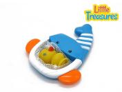 Whale net bath toy set . plus babies
