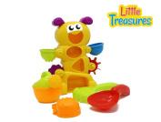 BATHTUB CATERPILLAR - bath toy set . plus babies