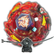 Beyblade Meteo L-Drago Rush Red BB-98 With LL2 Launcher and Rip Cord Shipped and Sold From US