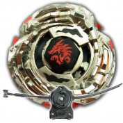 Beyblade L Drago Guardian BB121B Metal Fusion Masters 4D S130MB With LL2 Launcher and Rip Cord Shipped and Sold From US