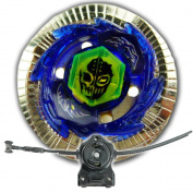 Beyblade Duouranus 230WD Metal Fusion 4D BB121C With LL2 Launcher and Rip Cord Shipped and Sold From US