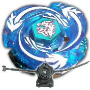 Beyblade Meteo L-Drago Assault Version Blue BB-98 With LL2 Launcher and Rip Cord Shipped and Sold From US