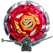 Beyblade Dark Gasher Cancer Metal Fusion 4D With LL2 Launcher and Rip Cord Shipped and Sold From US
