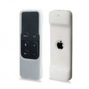 Akwox Apple TV Remote Case with Lanyard for 4th Generation - White