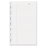 MiracleBind Ruled Paper Refill Sheets, 8 x 5, White, 50 Sheets/Pack, Sold as 2 Package