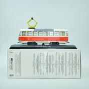 THE TOYS 1/87 ATLAS T3 Nr.6102(Tatra)-1961 The tram model