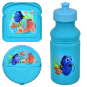 Disney Pixar Finding Dory Lunch and Snack Set with Water Bottle-BPA Free