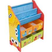 Heavy-Duty Plastic Book and Toy Organiser, Multi