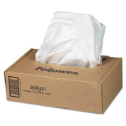 AutoMax Shredder Waste Bags, 60.6-75.7l 50/CT, Sold as 2 Carton