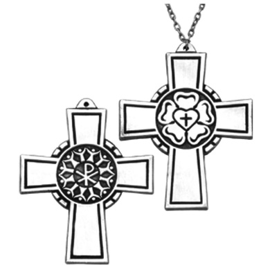 Luther Rose Community Cross