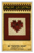 My Twisted Heart Quilt Pattern