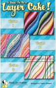 I Used To Be A Layer Cake Quilt Pattern by Black Cat Creations Bargello 3 Versions Layer Cake 25cm Squares & Jelly Roll 6.4cm Strip Friendly
