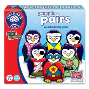"""Orchard Toys 890cm Penguin Pairs A Cool"""" Matching Game"""