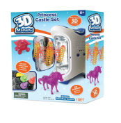3D Magic Deluxe Theme Pack Princess Castle Set