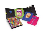 Knock Knock Plumb Notebooks Monster Alien Binders