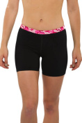 Toolshed Women's Compression Shorts, Endorsed by Pro Athletes - Moisture Wicking