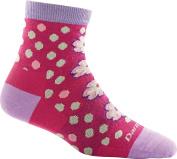 Darn Tough Flower Power Shorty Light Sock - Women's