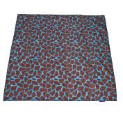 Wupzey Floor Mat, Blue Giraffe