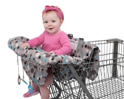 Grocery Cart Cover For Baby, Babyezz 2-In-1 Infant Shopping Cart & High Chair Cover
