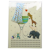 """A4 Casebound Memory """"New Baby"""" Book Blue - 120 Pages - Size - 11.7 X 8.3"""