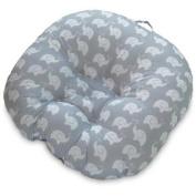 Boppy Newborn Lounger - Elephant Grey Patterns