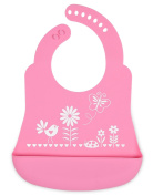 Brinware Catch All Bib - Silicone - Garden Party, One Size